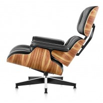 Крісло Eames Lounge Chair з отоманкой