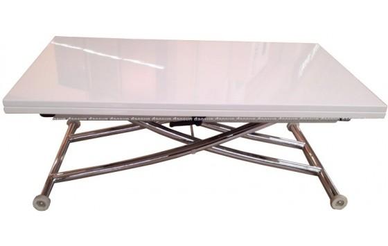Стол трансформер МДФ белый DAOSUN B 2219 S