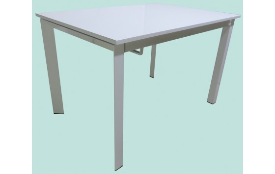 Стол кухонный раскладной МДФ белый DAOSUN DF 202T