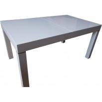 Стол обеденный раскладной МДФ белый DAOSUN В 2257