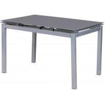 Стол кухонный раскладной стеклянный серый DAOSUN DST 101 T