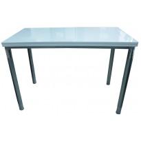 Стіл кухонний розкладний МДФ білий DAOSUN B 2201