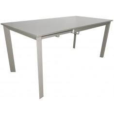 Стіл кухонний розкладний сіро-бежевий DAOSUN RF 1018 3DT
