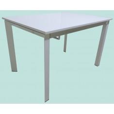 Стол кухонный раскладной МДФ белый DAOSUN RF 1018 3DT