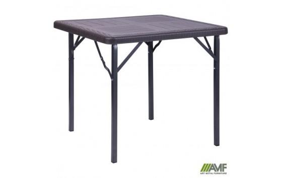 Стіл складаний Фіат WAK-78 78 * 78 * 70 пластик Wooden Brown