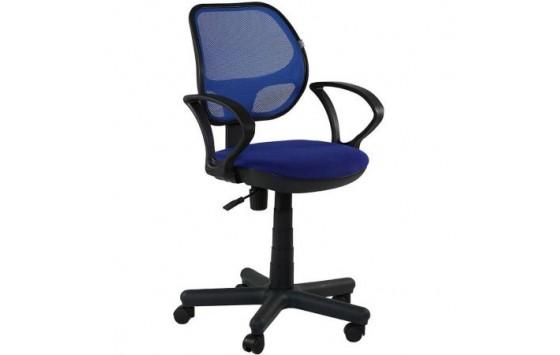 Кресло Чат/АМФ-4 Сетка синяя