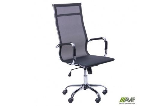 Крісло Slim Net HB (XH-633) чорний