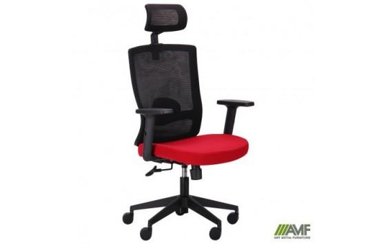 Кресло Xenon HB черный/гранат