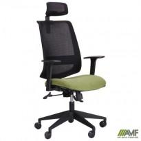 Кресло Carbon HB черный/зеленый