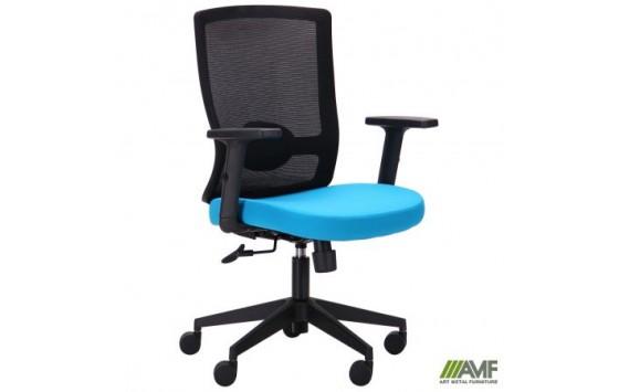 Кресло Xenon LB черный/лазурь