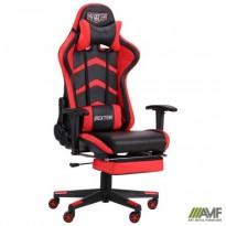 Кресло VR Racer Dexter Galvatron черный/красный
