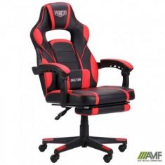 Крісло VR Racer Dexter Webster чорний / червоний