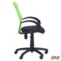 Кресло Oxi/АМФ-5 сиденье А-01/спинка Сетка салатовая