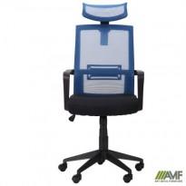 Крісло Neon світло-синій / чорний