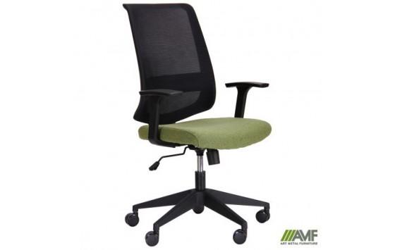 Крісло Carbon LB чорний / зелений