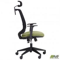 Крісло Carbon HB чорний / зелений