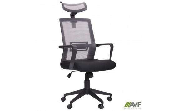 Кресло Neon графит/черный