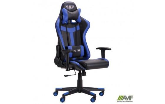 Кресло VR Racer Dexter Skyline черный/синий