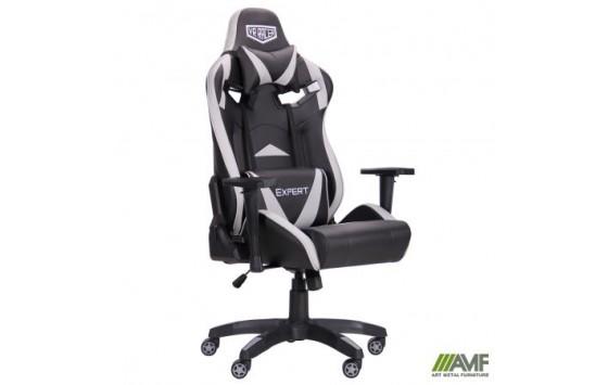 Крісло VR Racer Expert Wizard чорний / сірий