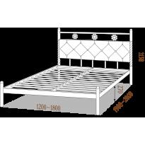 Ліжко двоспальне Белла