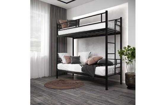 Ліжко односпальне 2х-ярусна Дабл