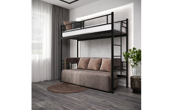 Ліжко односпальне 2х-ярусна Дабл горище