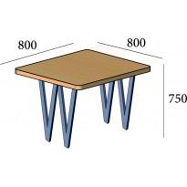 Стіл обідній Ві 4 ноги small