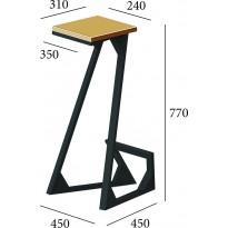 Барний стілець Зетта