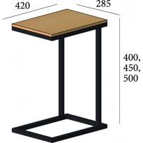 Журнальний стіл Кава Брейк 2 в 1