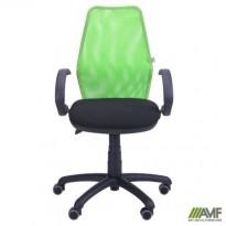 Крісло Oxi / АМФ-5 сидіння А-01 / спинка Сітка салатова