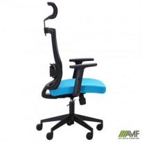 Кресло Xenon HB черный/лазурь